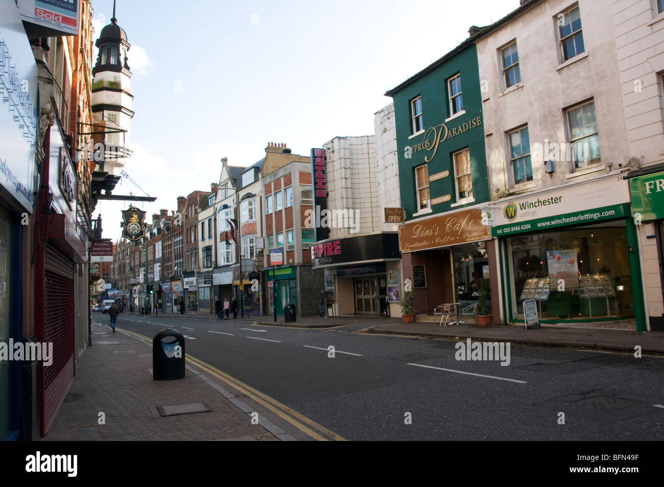 High street bromley kent england stock photo royalty for The bromley