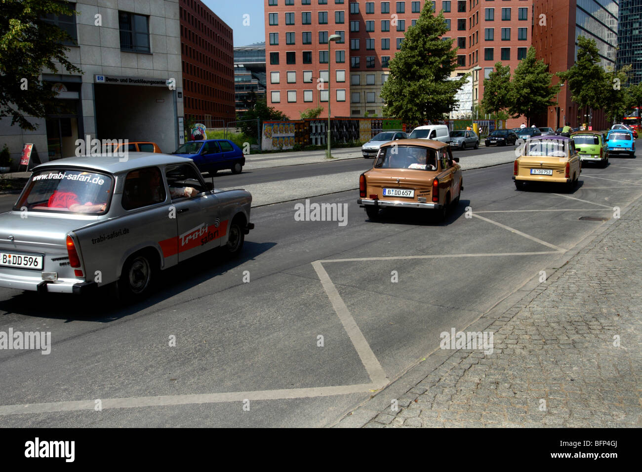 Trabant Cars In Berlin Germany Stock Photo Royalty Free Image