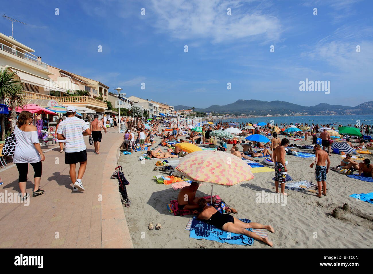 The beach of saint cyr sur mer near bandol stock photo royalty free image 26966485 alamy - Office tourisme st cyr sur mer ...