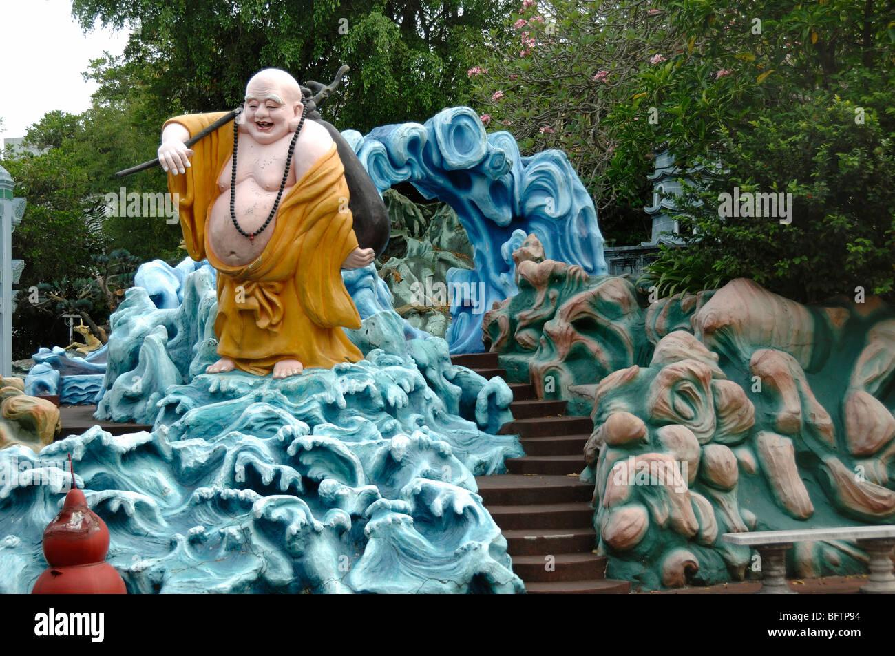 Fat Laughing Buddha Statue Tiger Balm Gardens Chinese