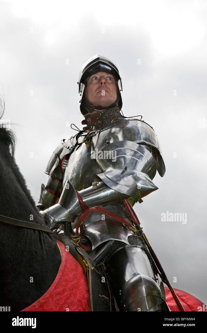 knight in shining armor Like a knight in shining armor from a long time ago.