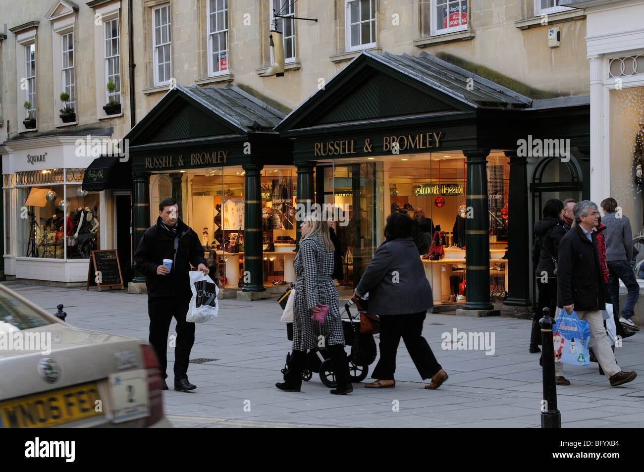 Shoe Shops In Bath City Centre