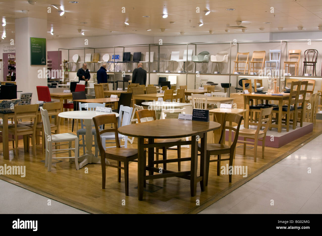furniture section john lewis flagship department store
