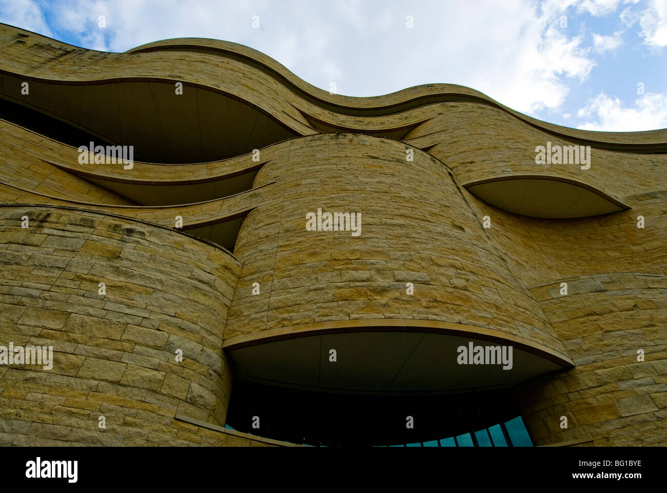 Smithsonian National Museum Of The American Indian Museum Stock - Famous art museums in usa