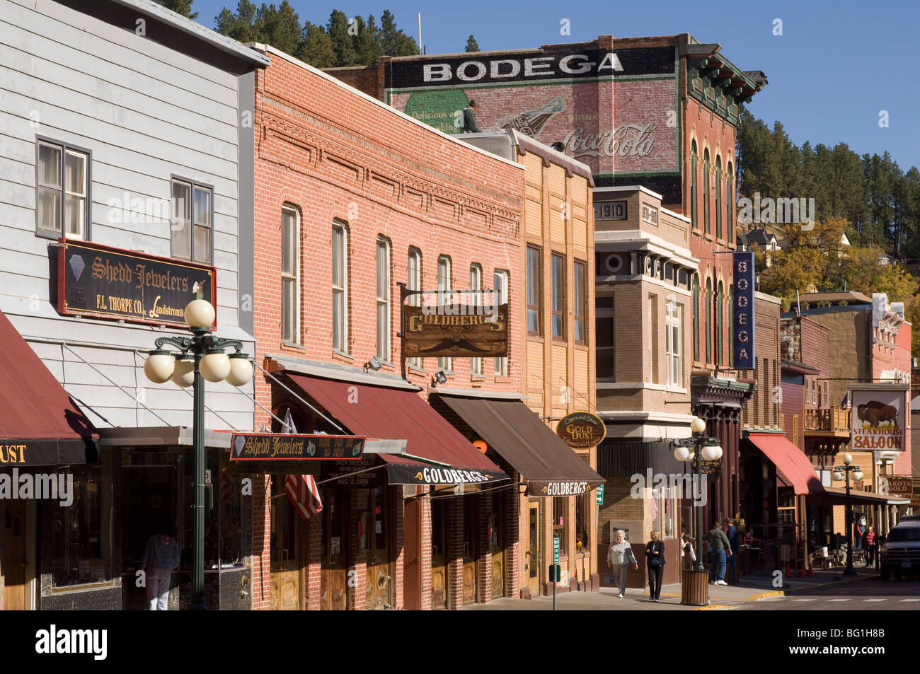 Main Street Deadwood Black Hills South Dakota United