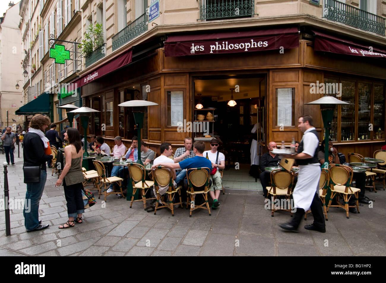 Cafe Rue Vieille Du Temple