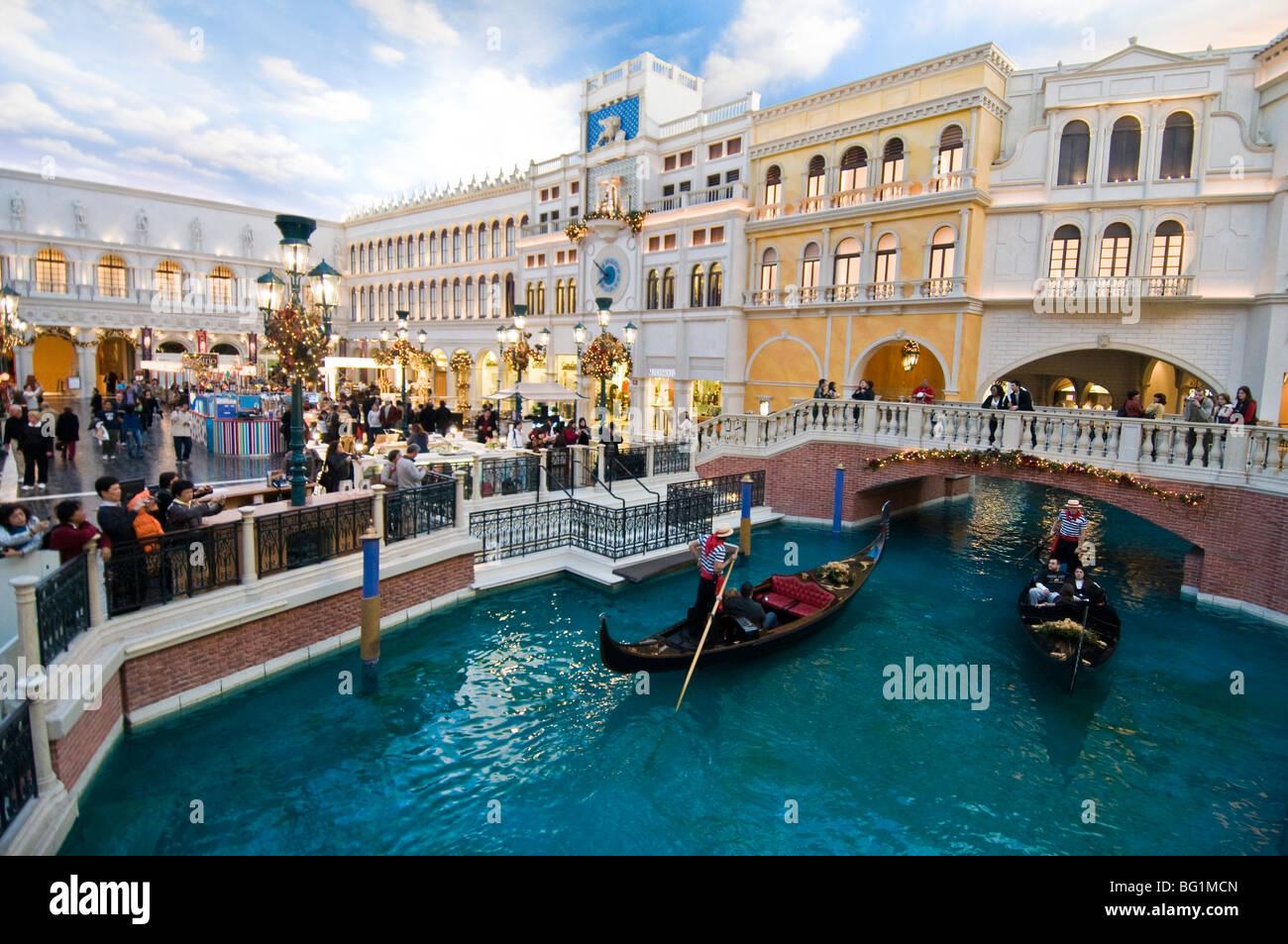Gondola Ride Las Vegas Venetian Stock Photos  Gondola Ride Las - Map of las vegas venetian