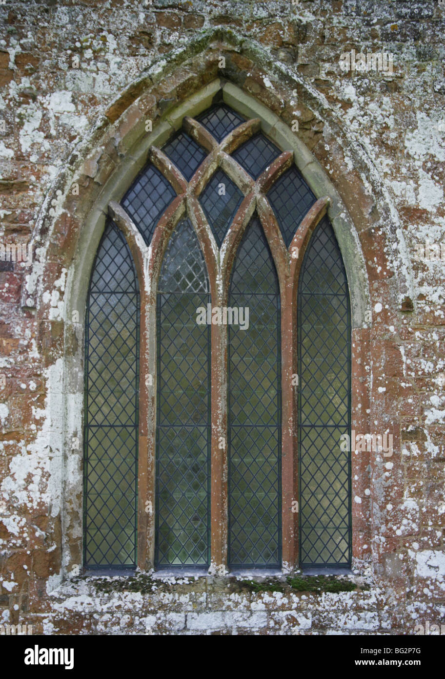 13th Century Church Window With Simple Y Tracery Burton Dassett Warwickshire
