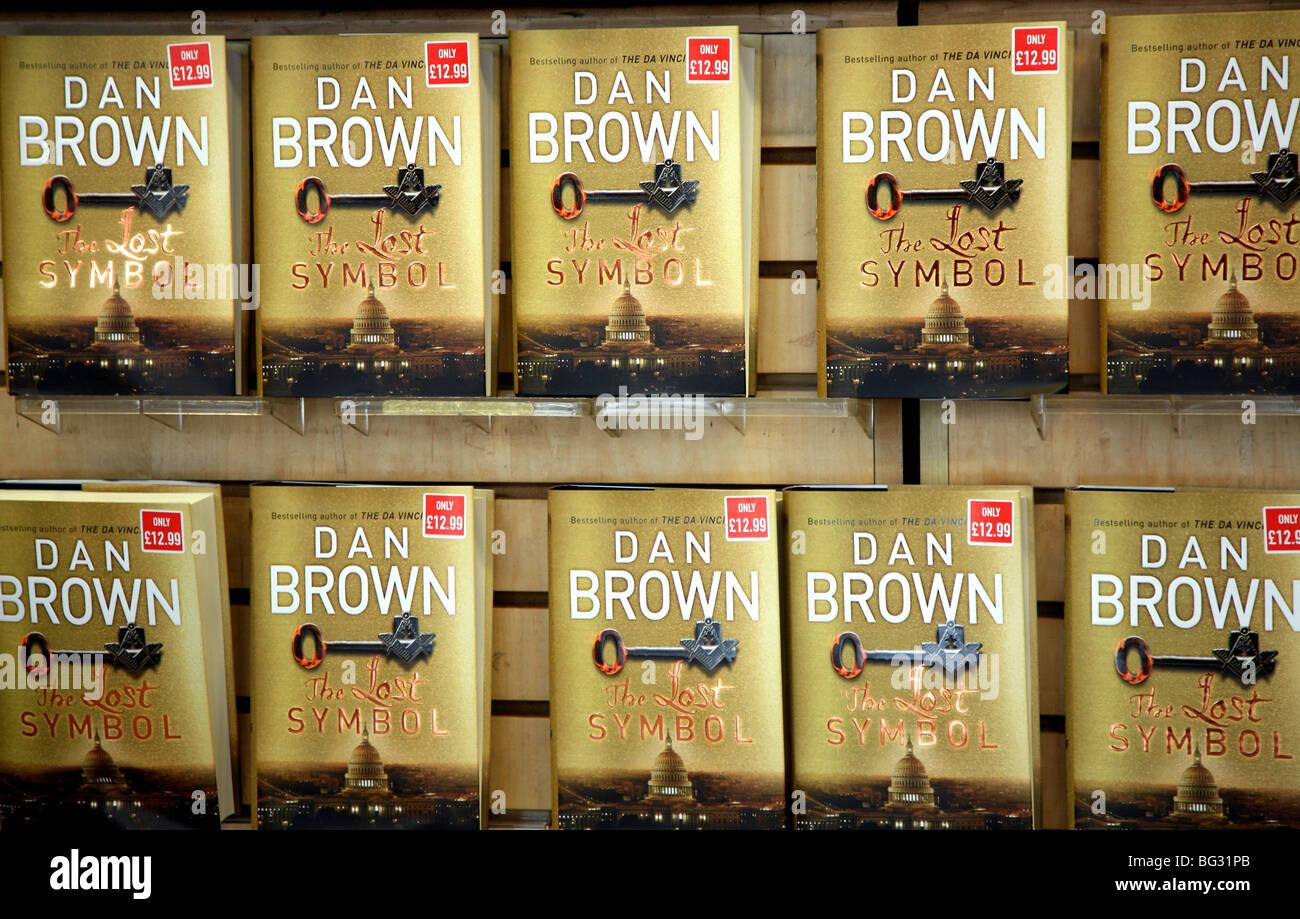 Dan browns the lost symbol in london bookshop stock photo dan browns the lost symbol in london bookshop biocorpaavc