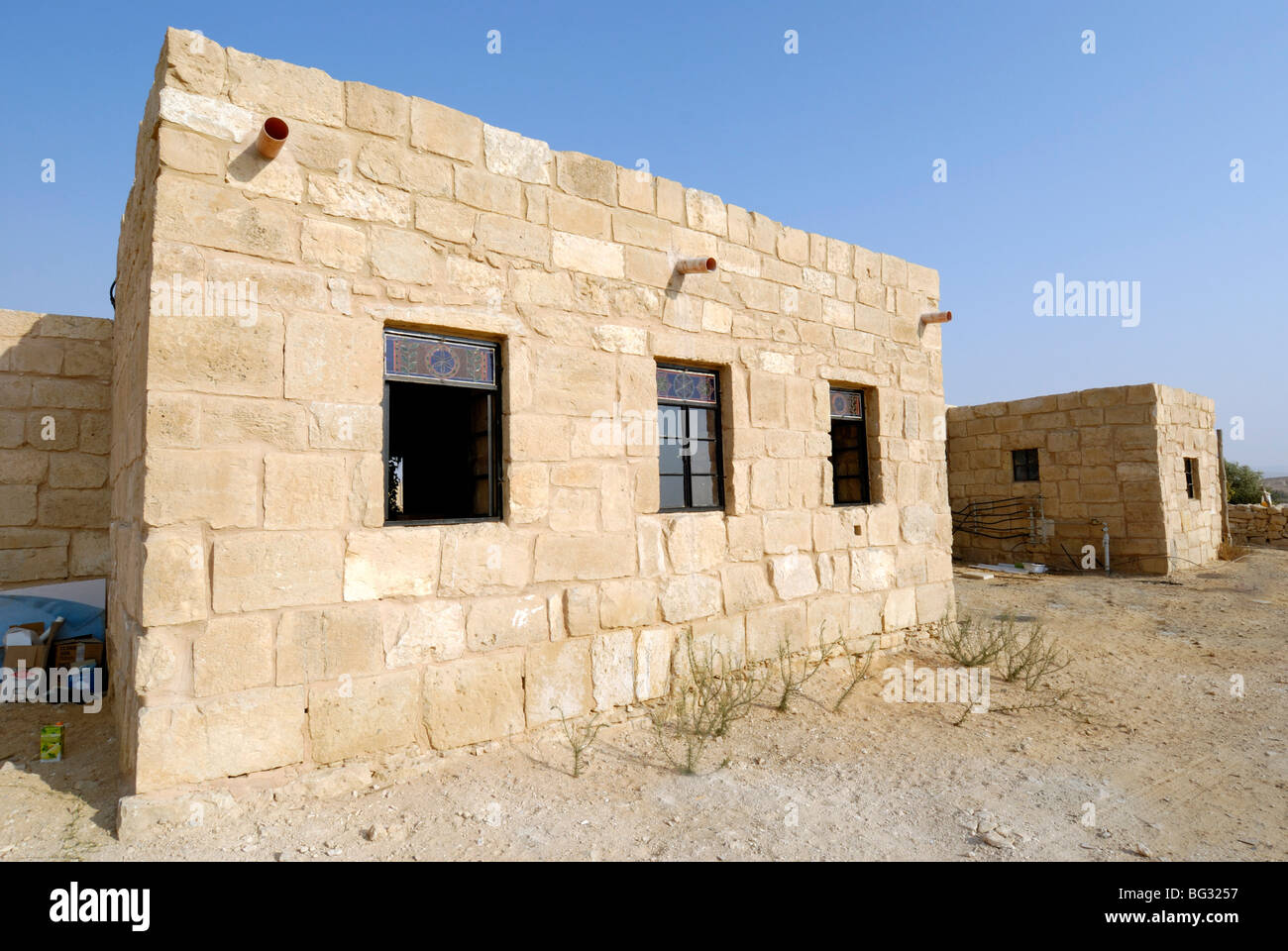 Israel negev shivta a modern house built from local for Local house builders