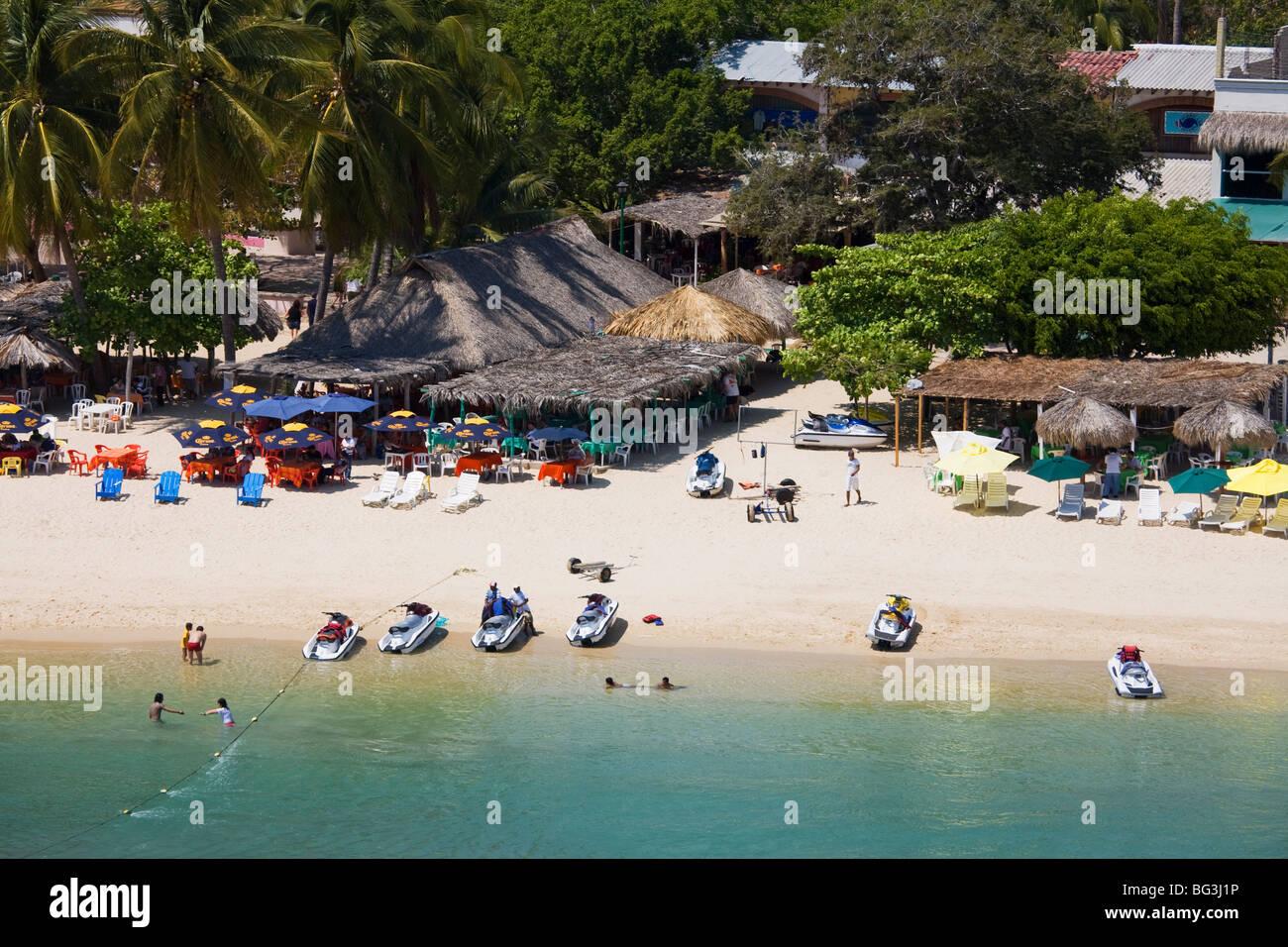 Santa Cruz Beach Bahias De Huatulco Oaxaca State