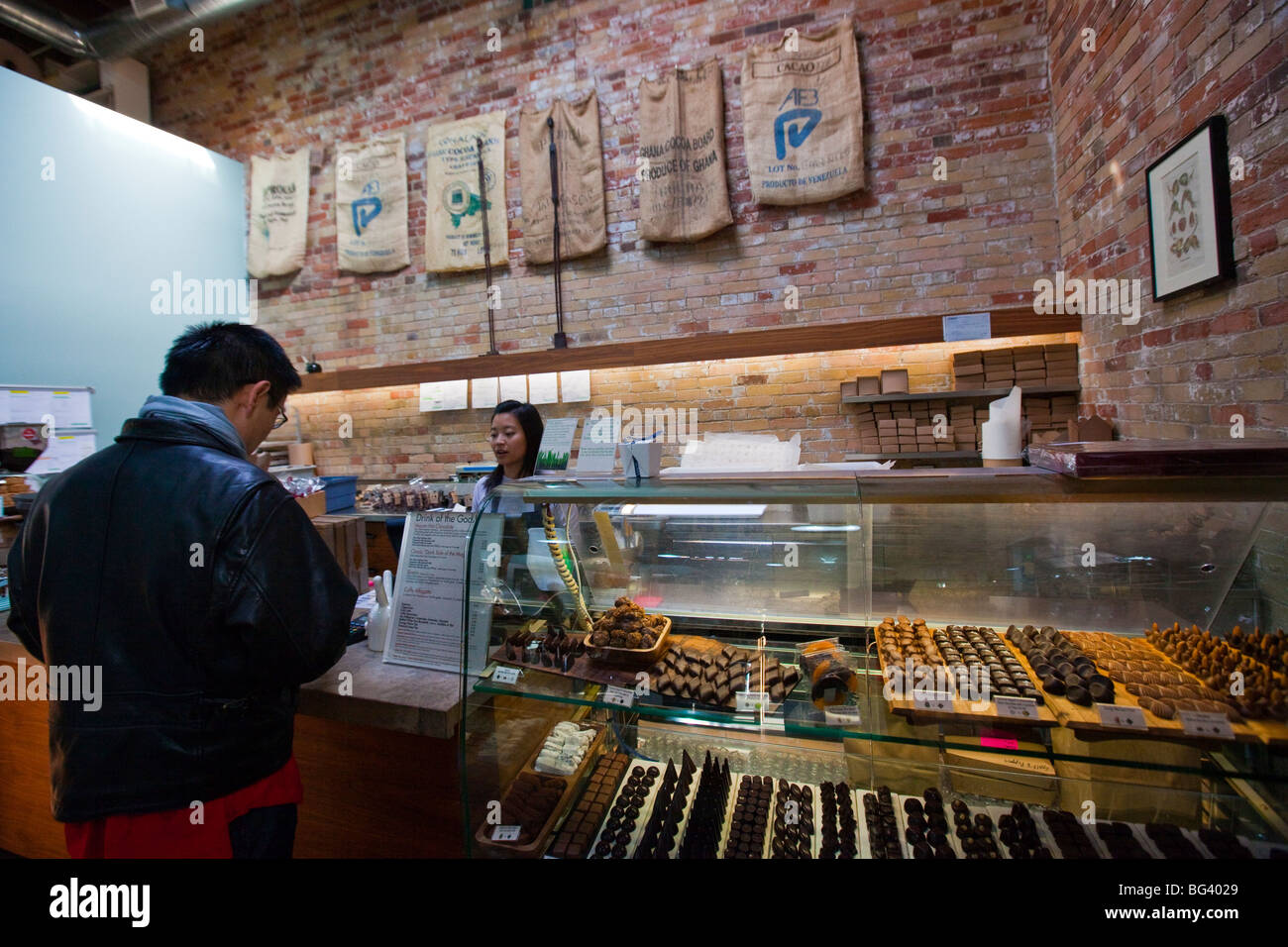 Soma Chocolatemaker in the Distillery District in Toronto Canada ...