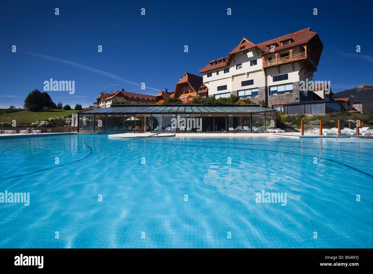 Argentina Rio Negro Province Lake District Llao Llao Hotel Llao Stock Photo Royalty Free