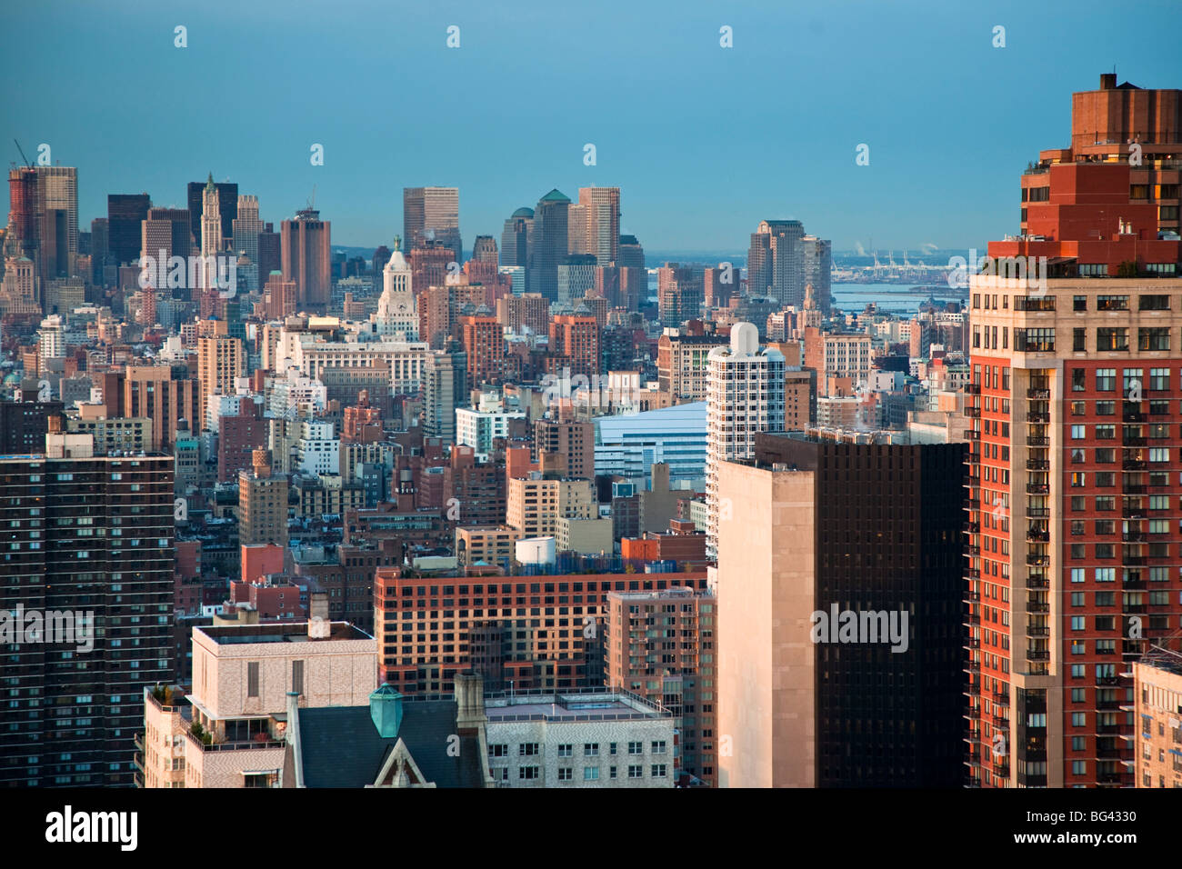 Apartments In Midtown Manhattan New York City Usa Stock Photo Royalty Free