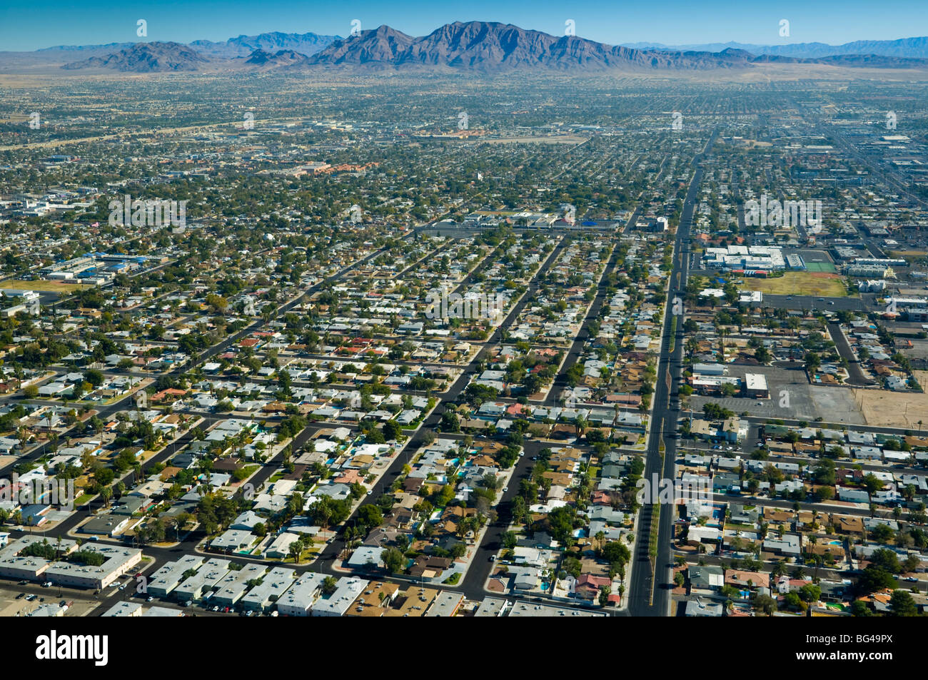 Stock Photo Usa Nevada Las Vegas Suburbia 27140370