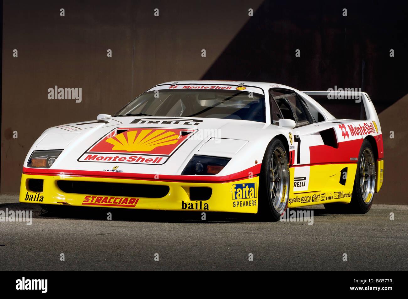 1993 Ferrari F40 Competizione Monteshell Racing Car Stock