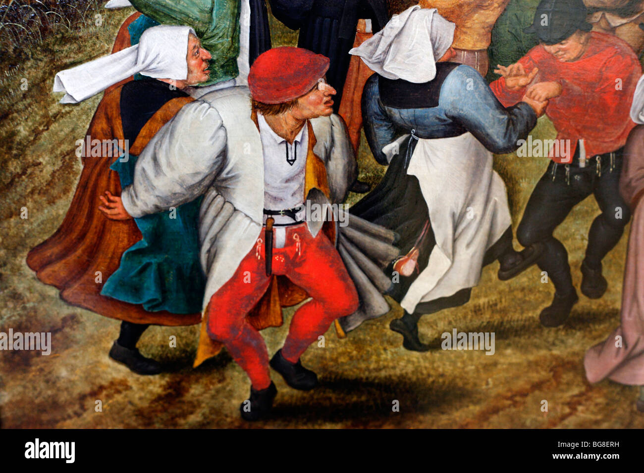 Brueghel Pieter The Younger Peasant Wedding Dance 1607 Painting In Alte Pinakothek Munich Bavaria Germany