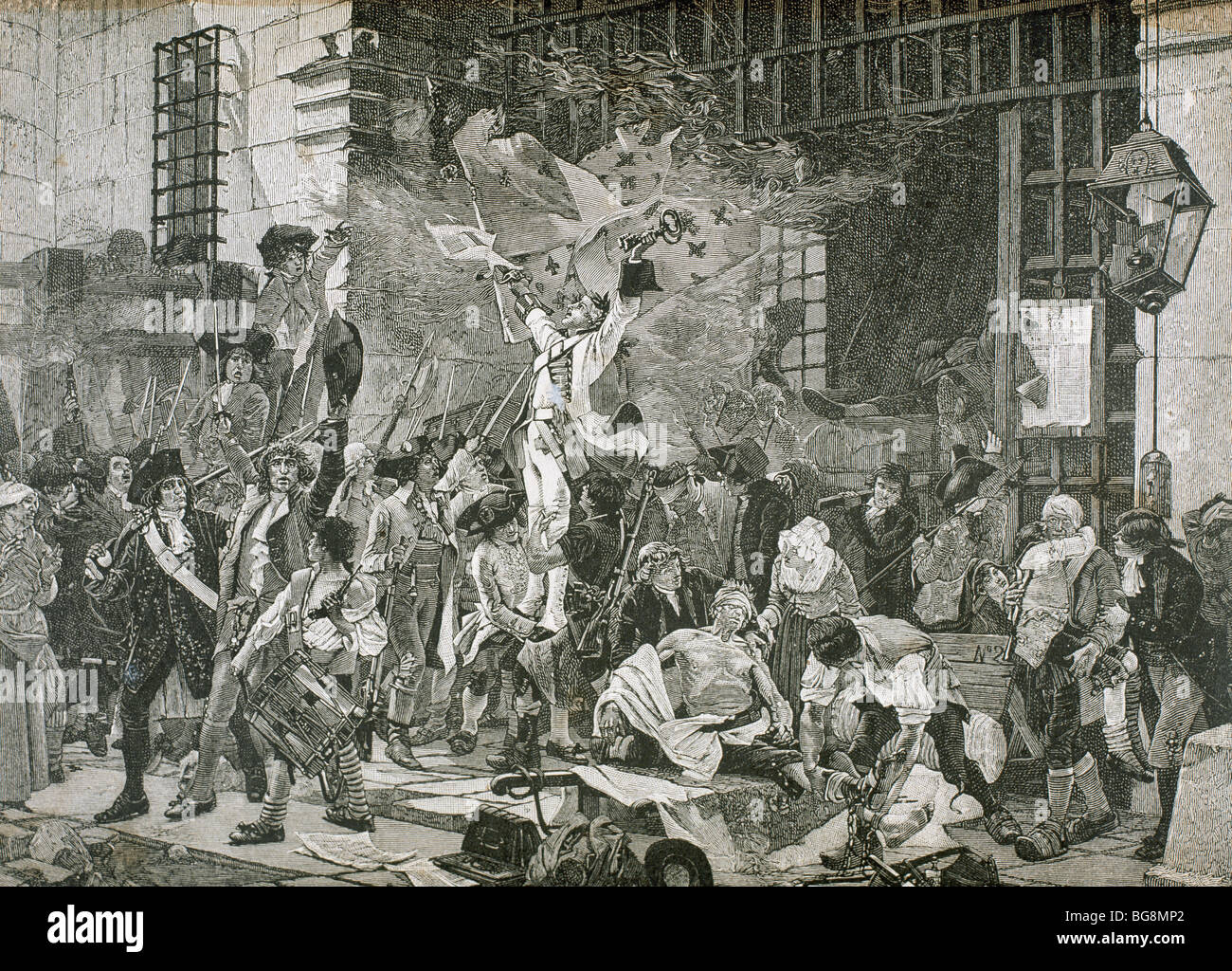 French Revolution. The Storming of the Bastille in Paris occurred ...