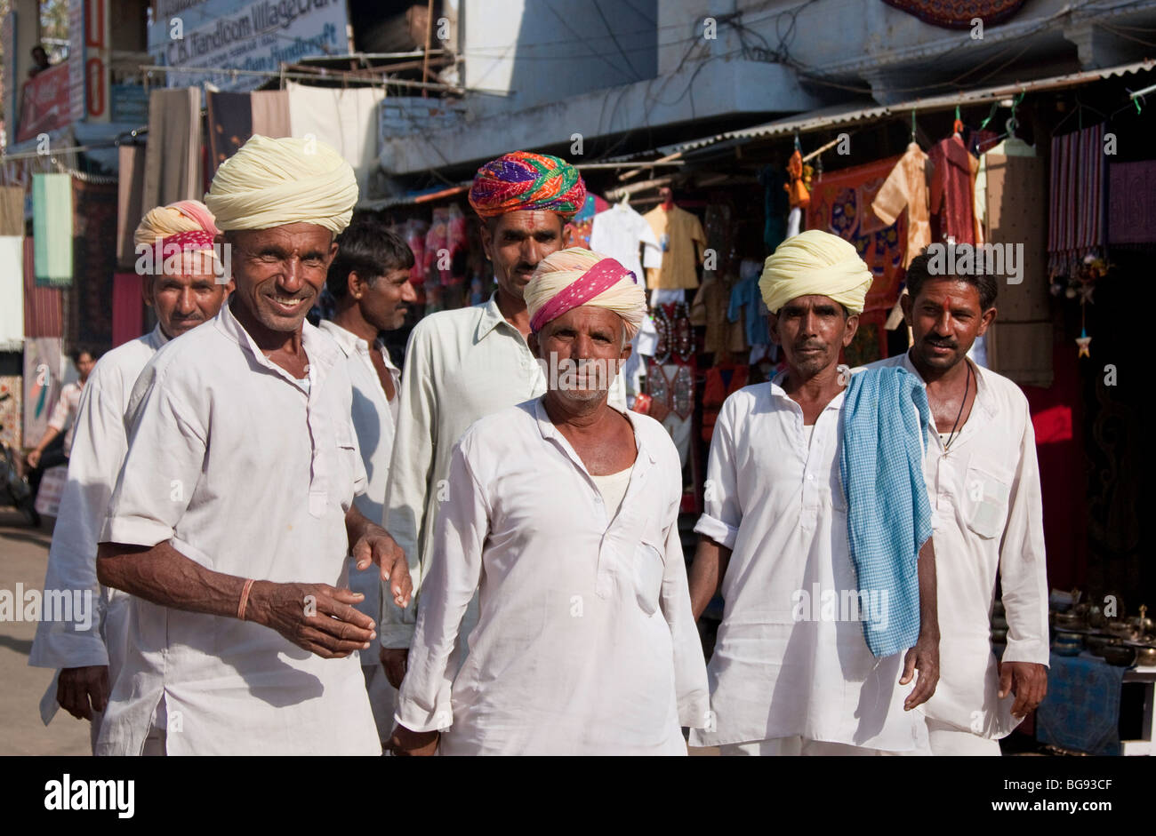 Rajasthani men in traditional dress Stock Photo: 27245135 ...