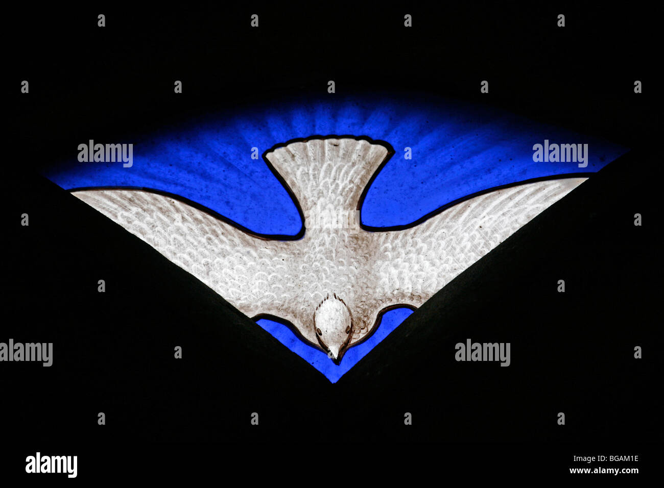 Holy spirit dove stock photos holy spirit dove stock images alamy a stained glass window depicting the dove of the holy spirit st nicholas church biocorpaavc