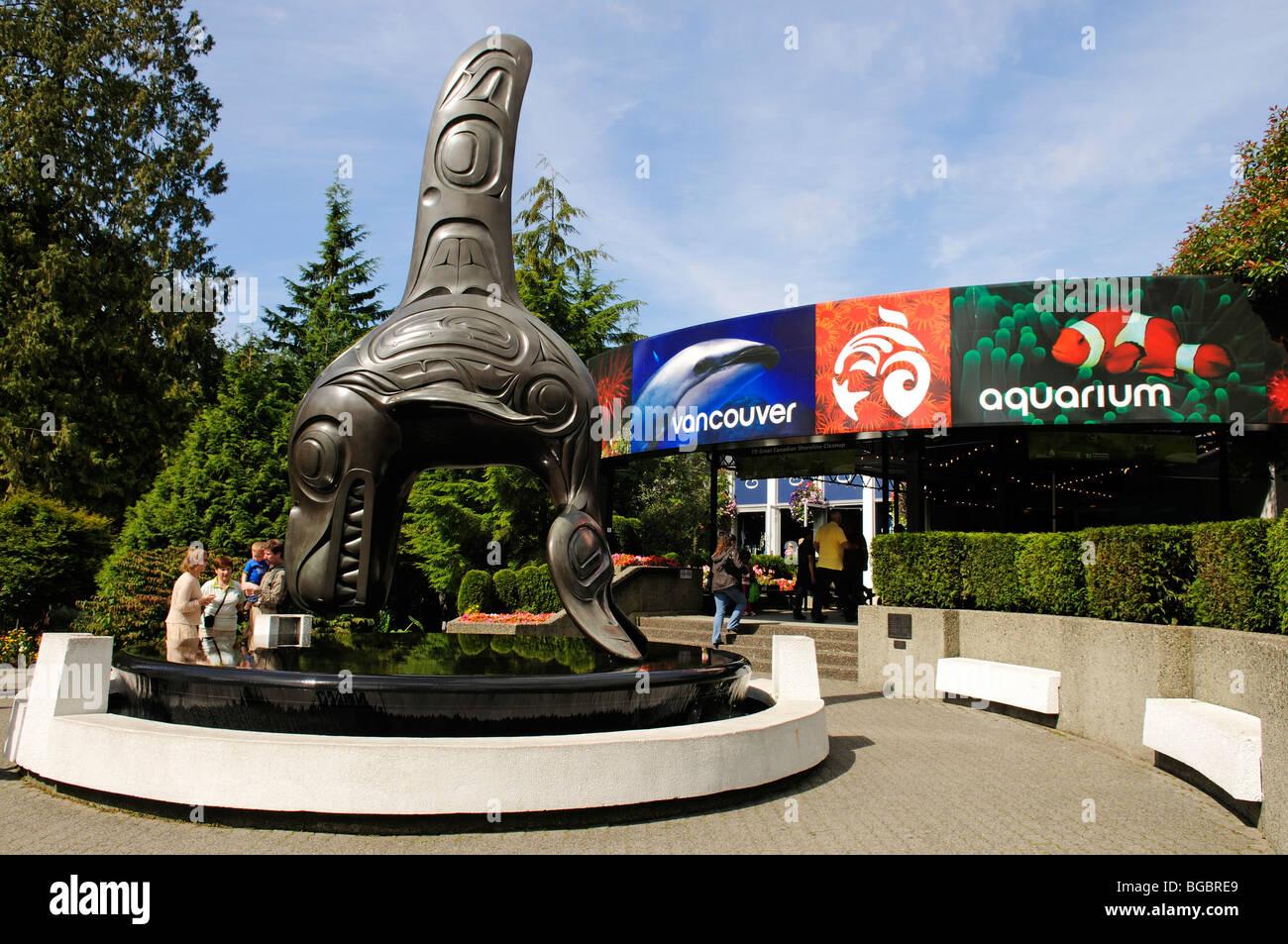 Fish aquarium vancouver - Aquarium Stanley Park Vancouver British Columbia Canada Stock Image