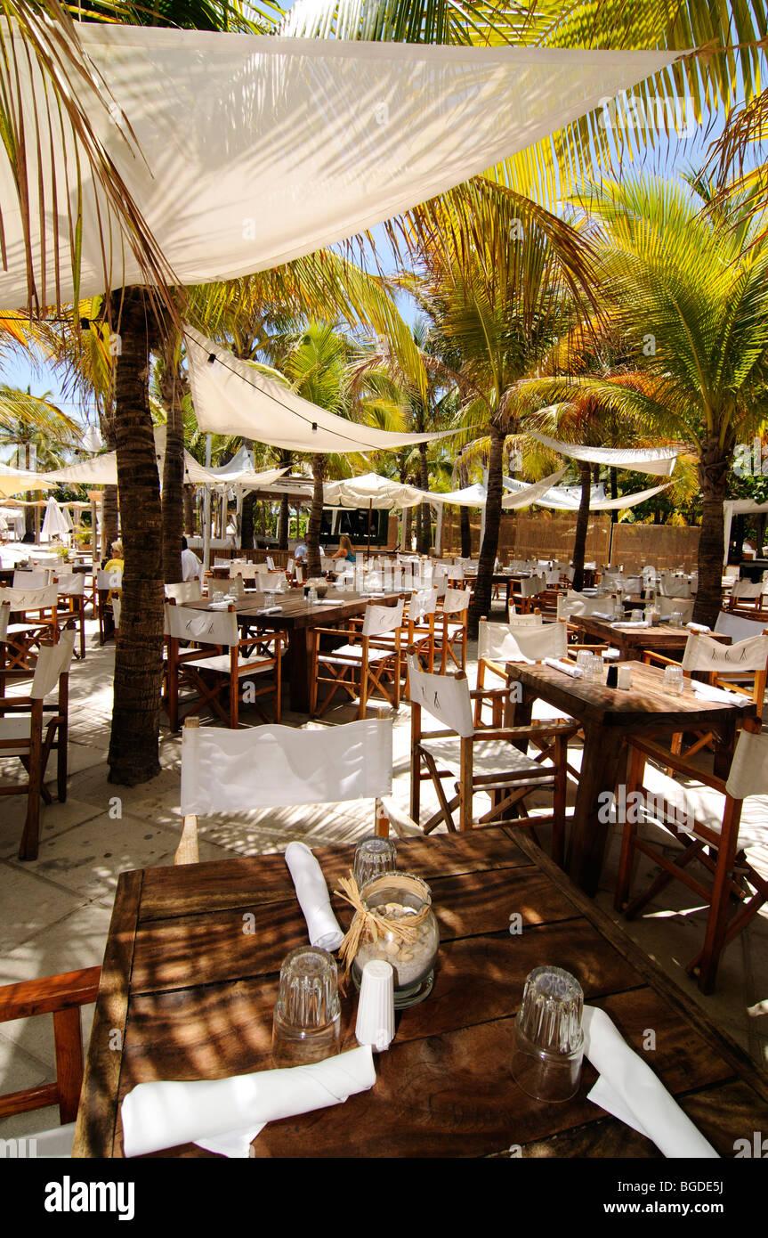 Nikki Beach Restaurant, Miami South Beach, Art Deco district Stock ...
