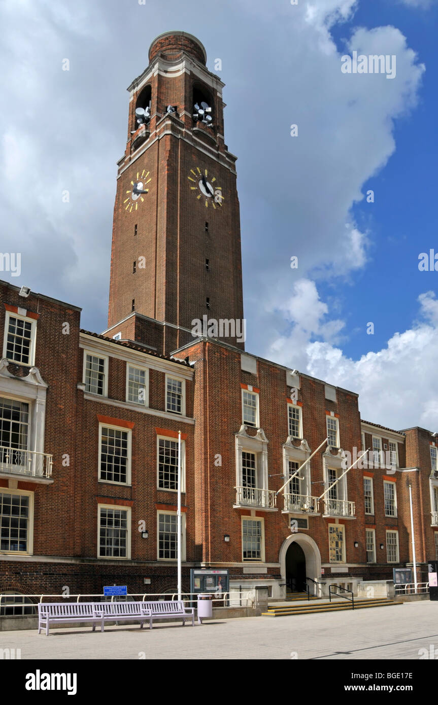 Bge My Account >> Barking Town Hall in the London Borough of Barking and Dagenham Stock Photo, Royalty Free Image ...