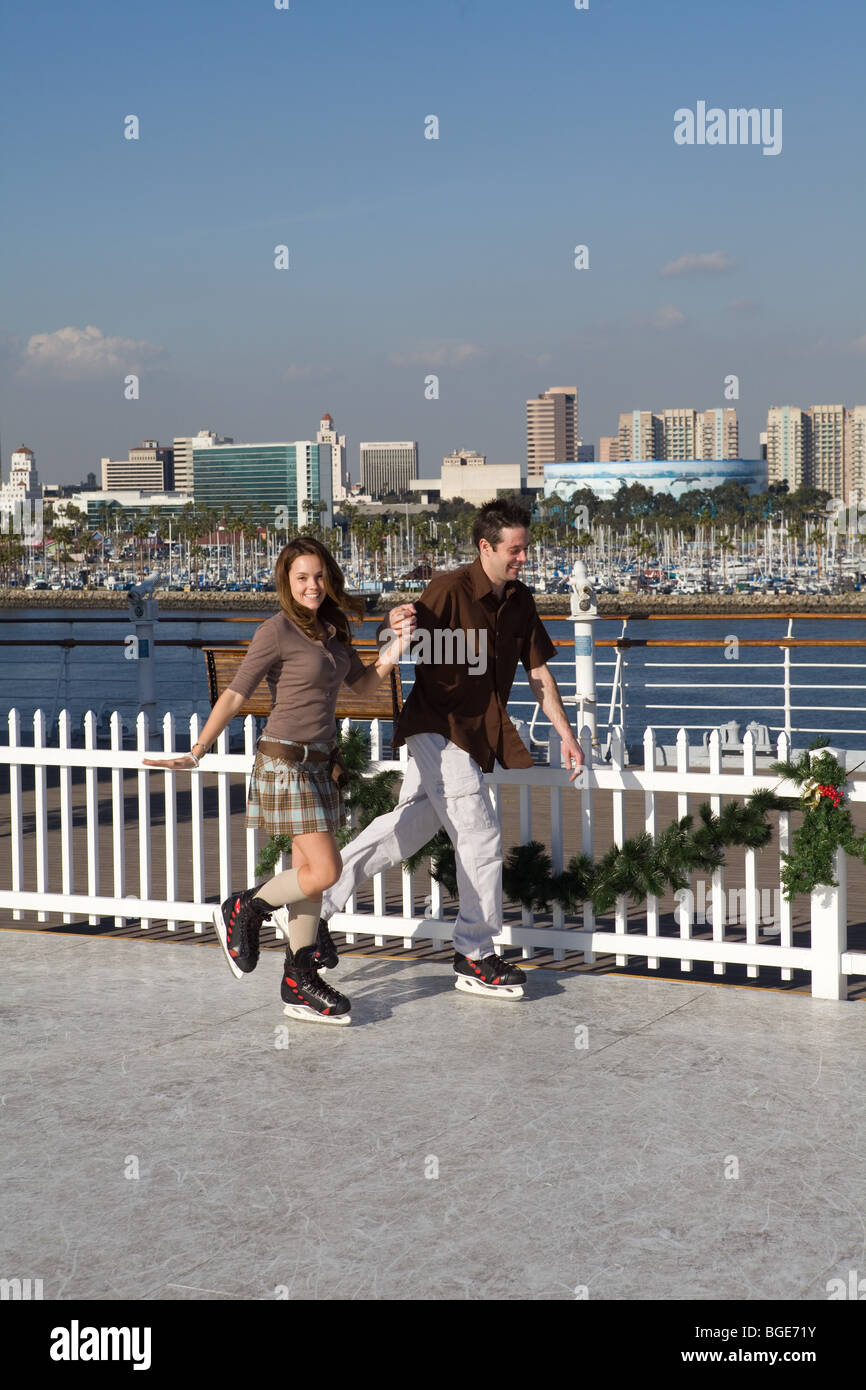 Queen Mary Long Beach Ice Skating