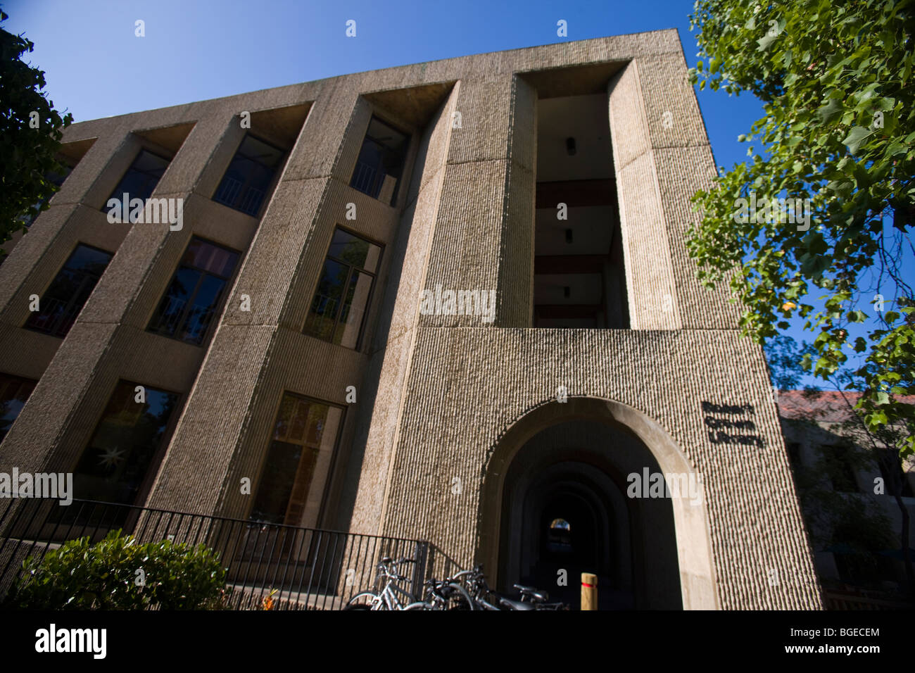 Stanford Law School Library Exterior of Sta...