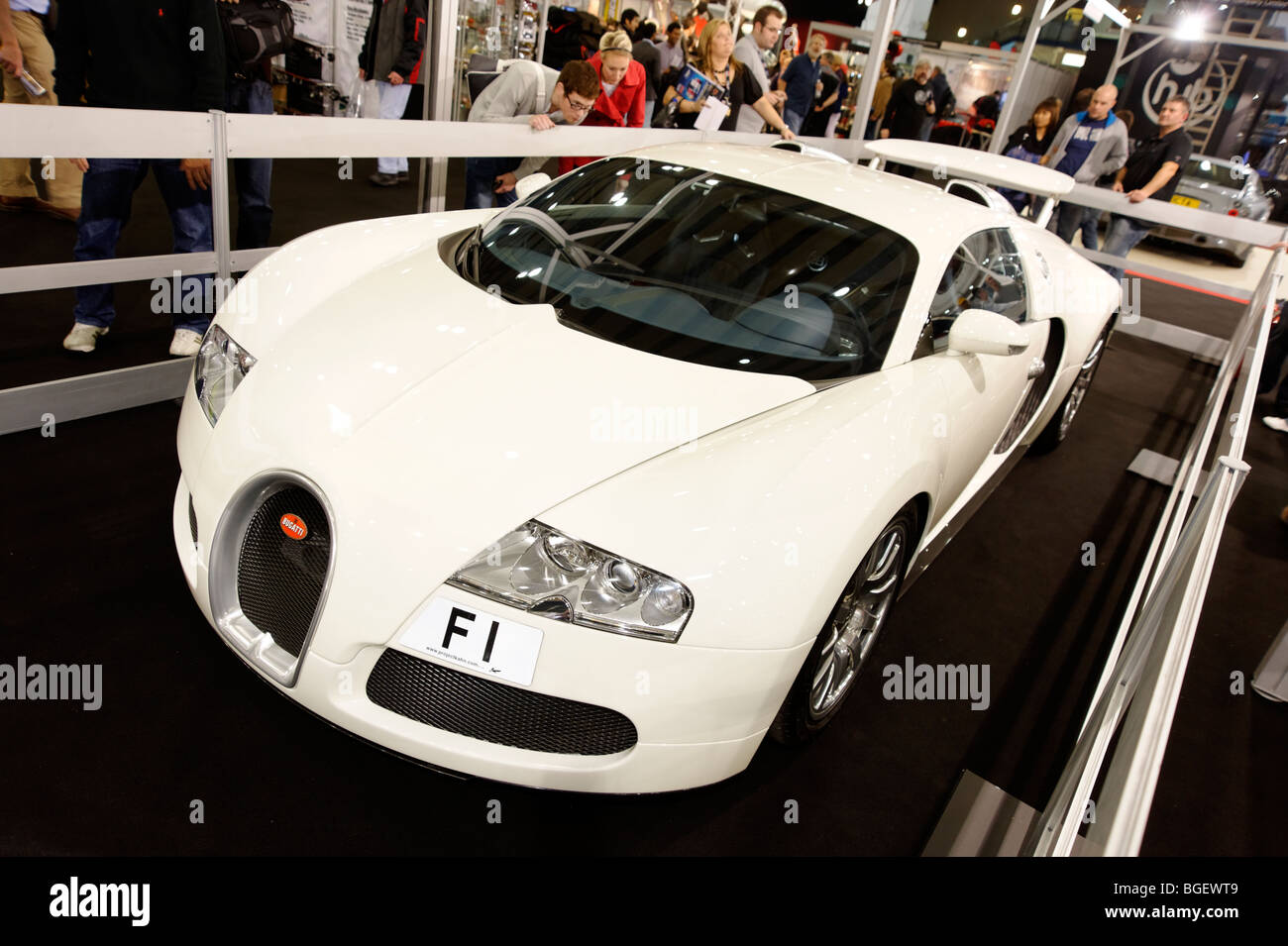 Worldsu0027s Most Expensive Bugatti Veyron Super Car. The F1 Number Plate Alone  Was Sold For