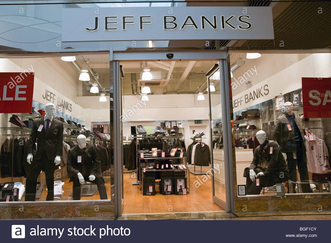 Designer Clothing Outlet Stores Jeff Banks clothing shop at