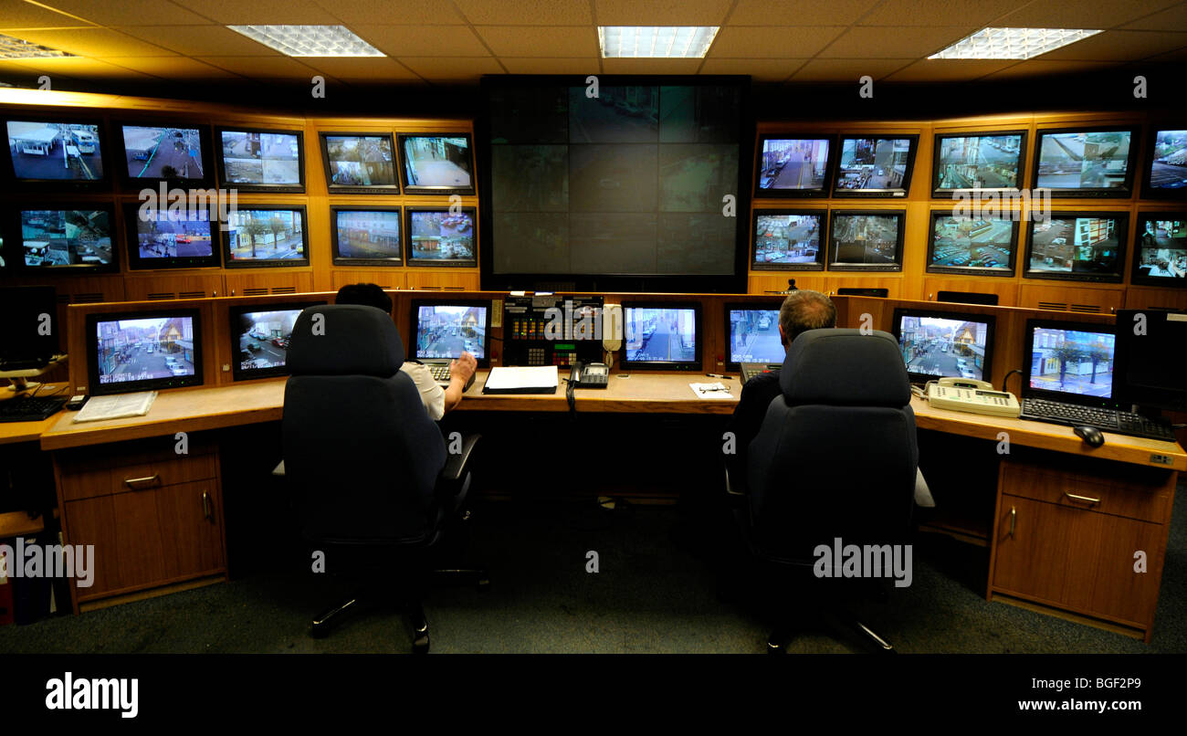 Terrific Cctv Control Room Britain Uk Stock Photo Royalty Free Image Largest Home Design Picture Inspirations Pitcheantrous