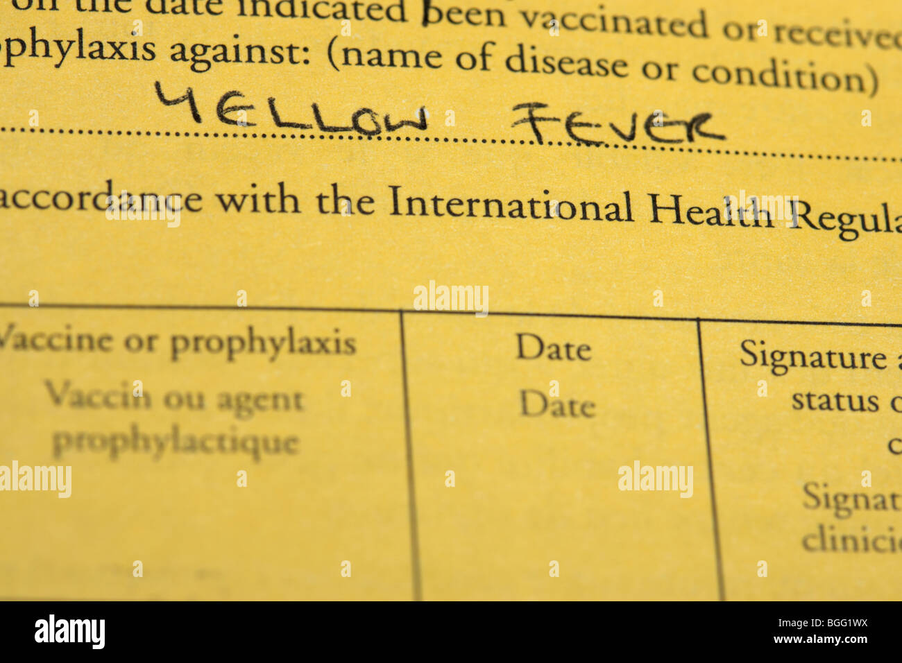 International certificate of vaccination or prophylaxis document international certificate of vaccination or prophylaxis document for yellow fever vaccine 1betcityfo Choice Image
