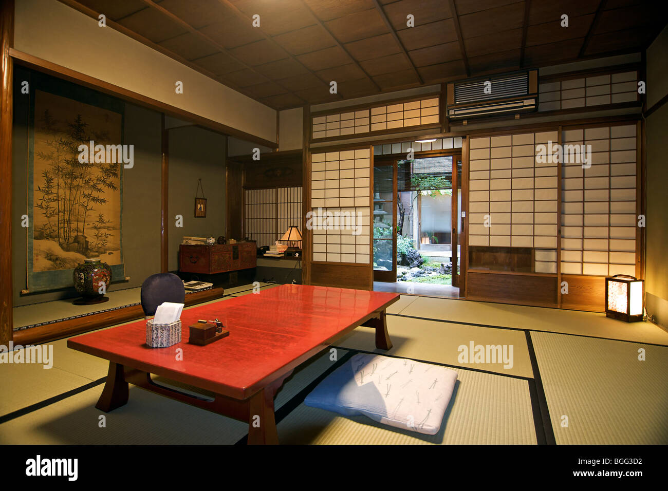 Ishihara ryokan Kyoto Japan Traditional Japanese style guest