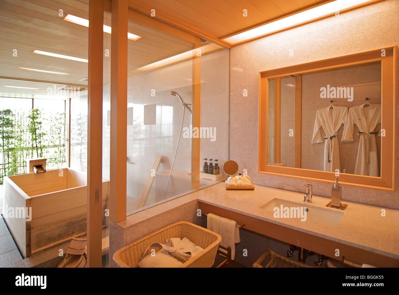 Bathroom Japan gora kadan. japanese ryokan. hakone, japan. guest accommodation