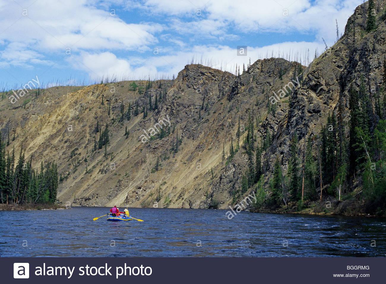 Alaska YukonCharley Rivers National Preserve Float Trip Stock - Trip to alaska