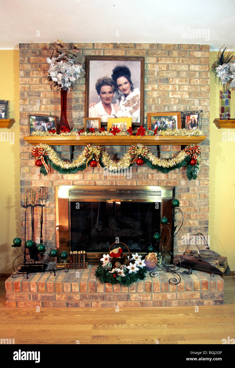 Family Room With Fireplace Still Life Art Artistic Home Decor