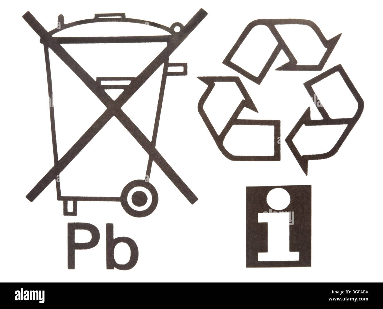 Recycling symbols on product packaging stock photo royalty free recycling symbols on product packaging biocorpaavc