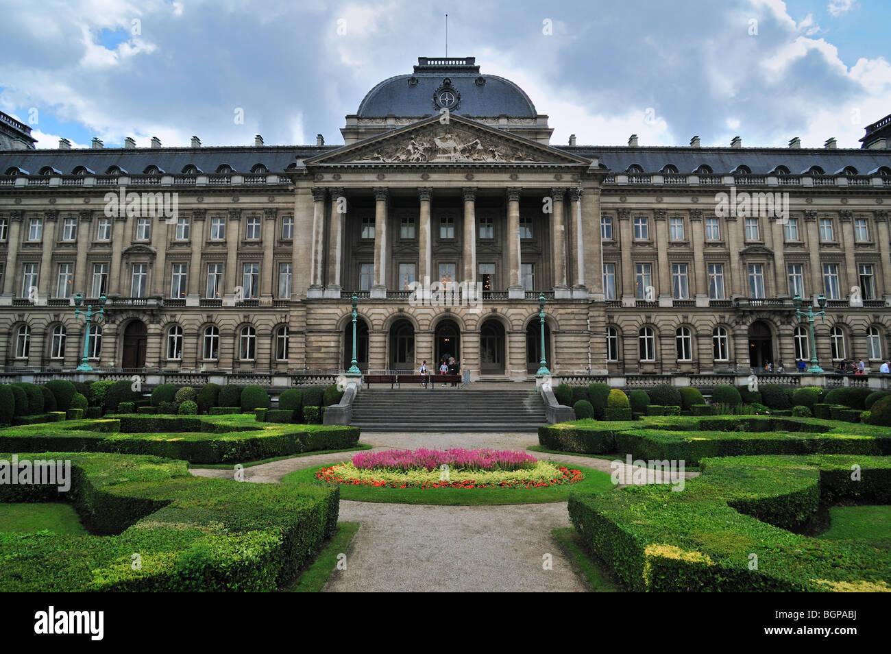 The royal palace of brussels palais royal de bruxelles koninklijk stock photo royalty free - Salon de the palais royal ...