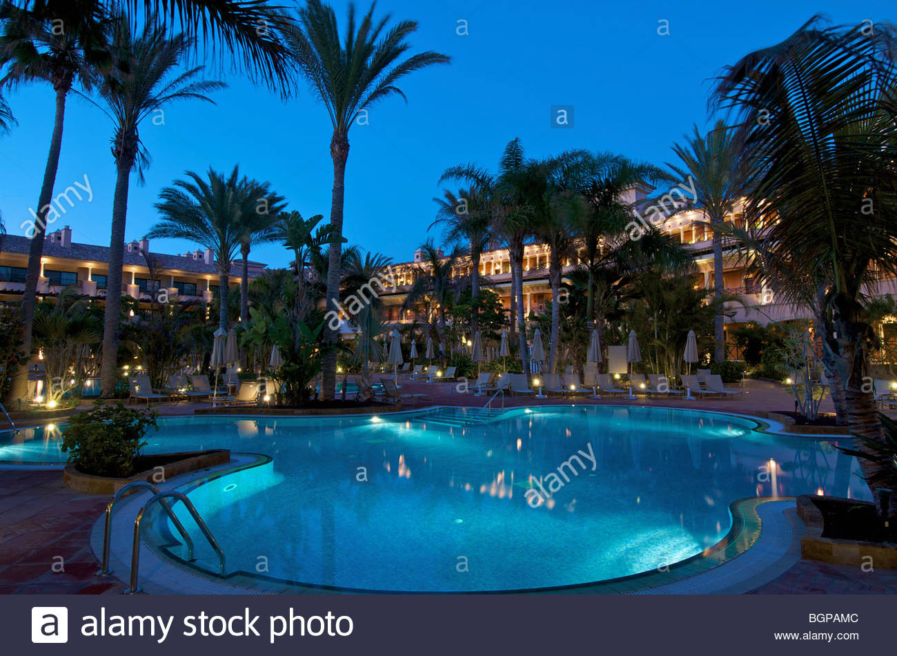 gran hotel atlantis bahia real fuerteventura canary islands spain stock photo royalty free. Black Bedroom Furniture Sets. Home Design Ideas
