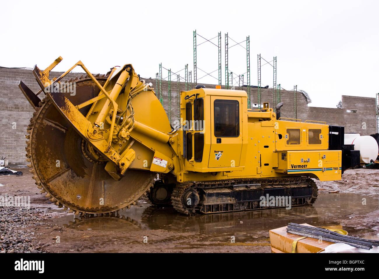 Trenching Machines Working : VĂn nghỆ cỗ máy đào kênh mương siêu tốc