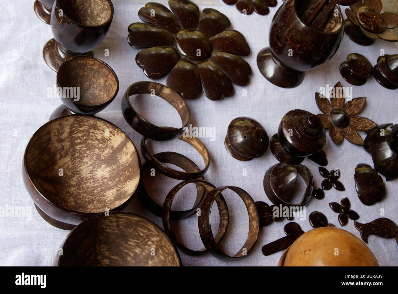 Crazy household articles made using coconut for What are shells made of