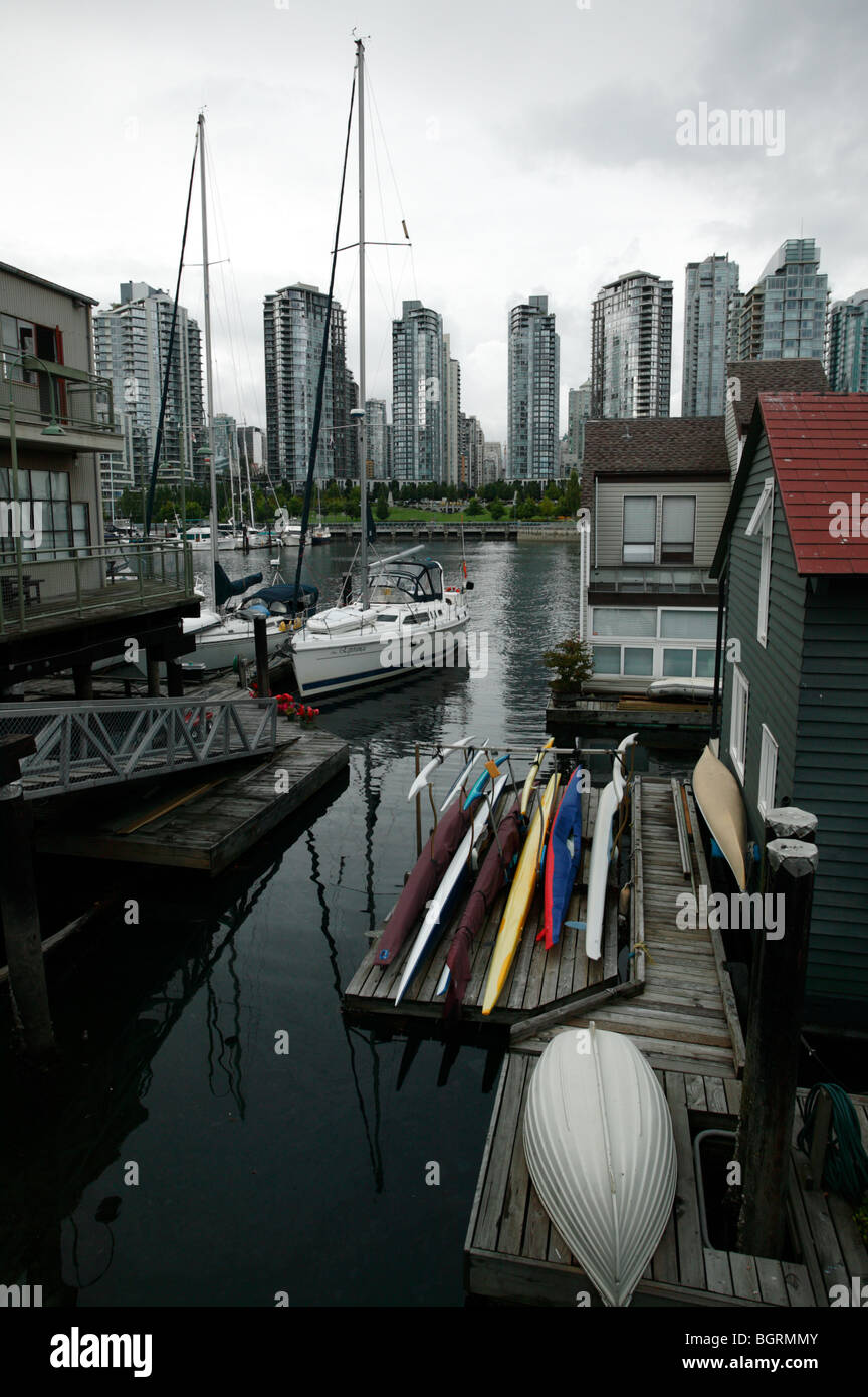 Floating Homes On Granville Island