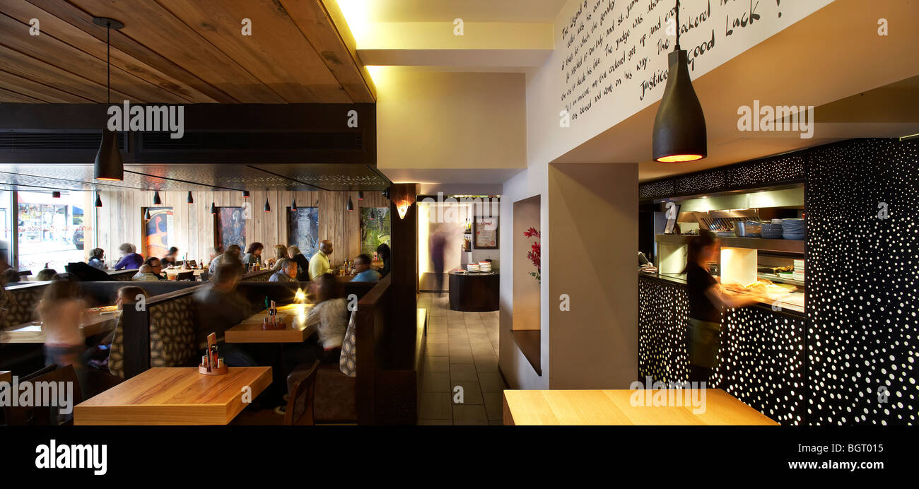 Nando s restaurant beckenham interior with