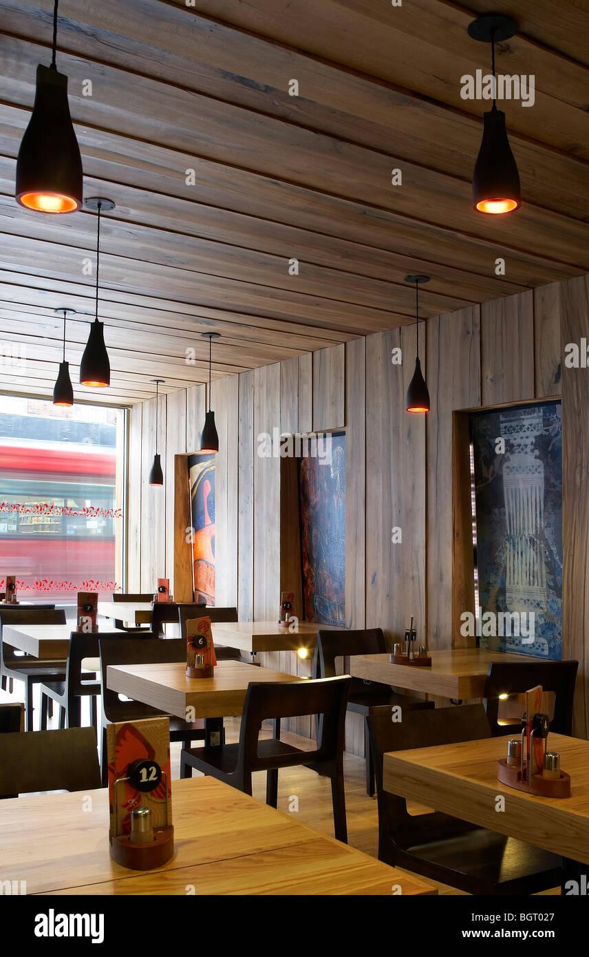 Nando s restaurant beckenham interior with seating and