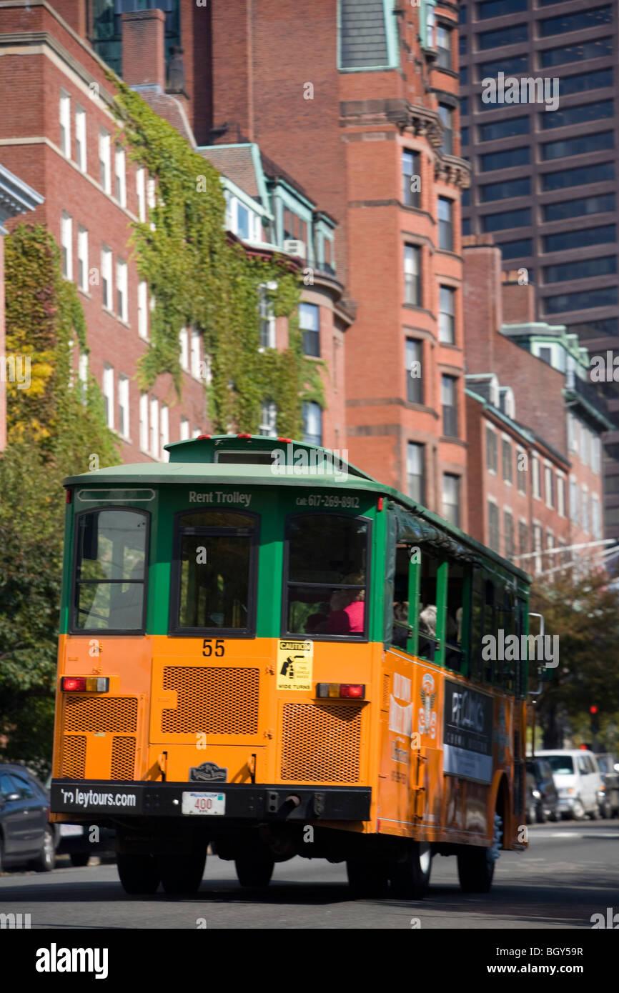 Boston Trolley Massachusetts USA