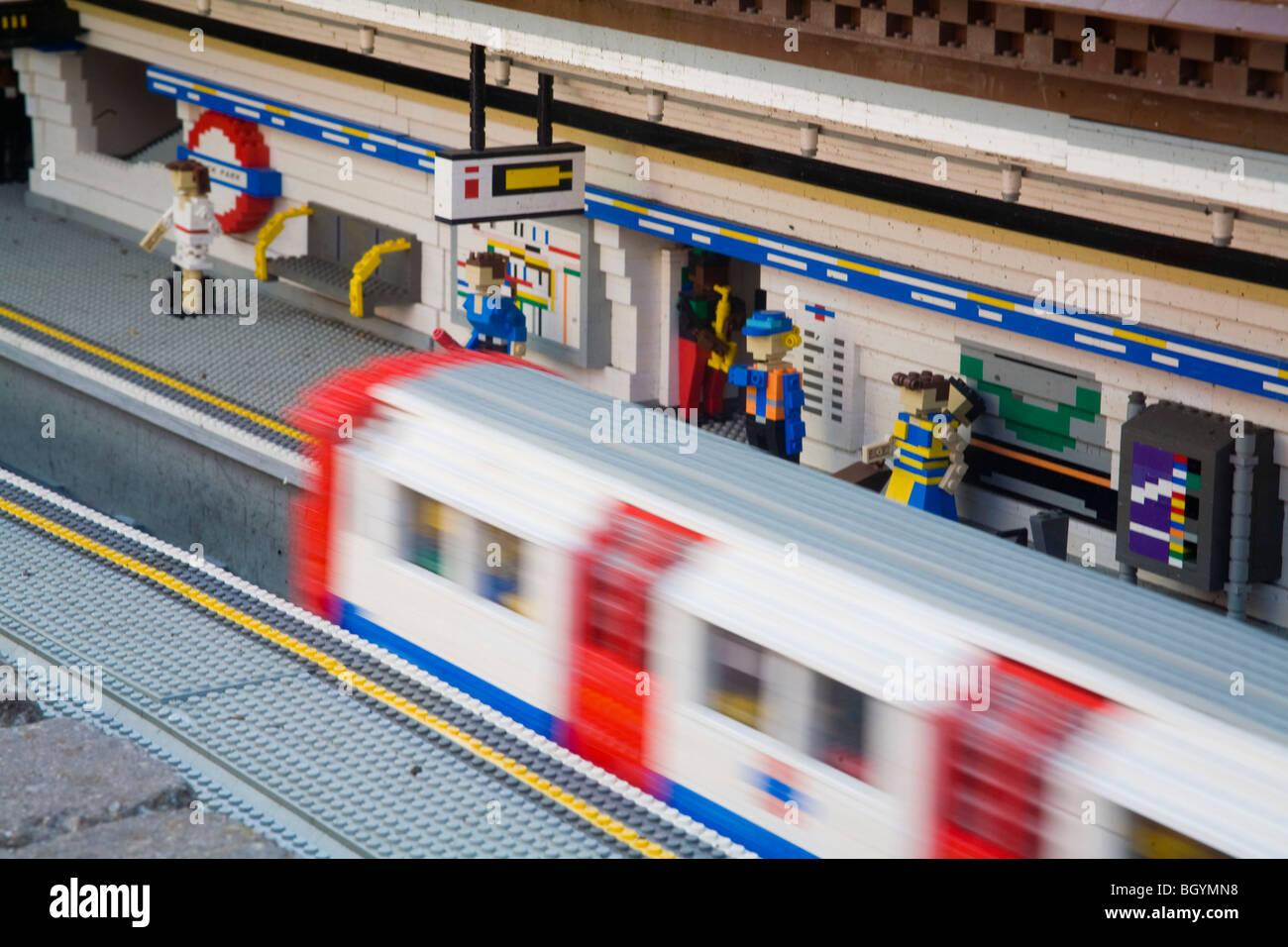lego tube train instructions