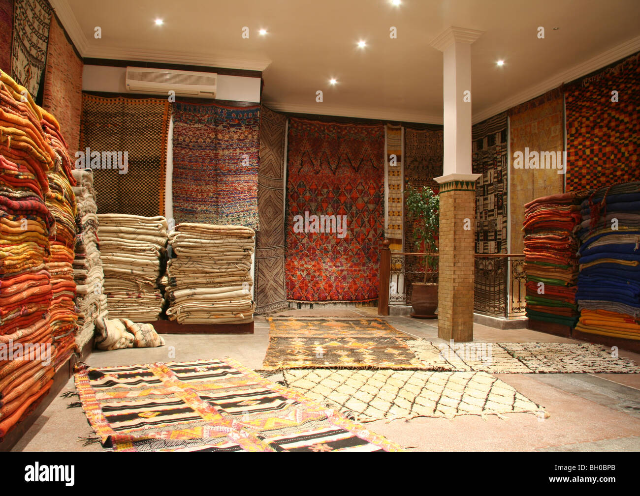 Ben Rahal Carpets Stock Photo, Royalty Free Image