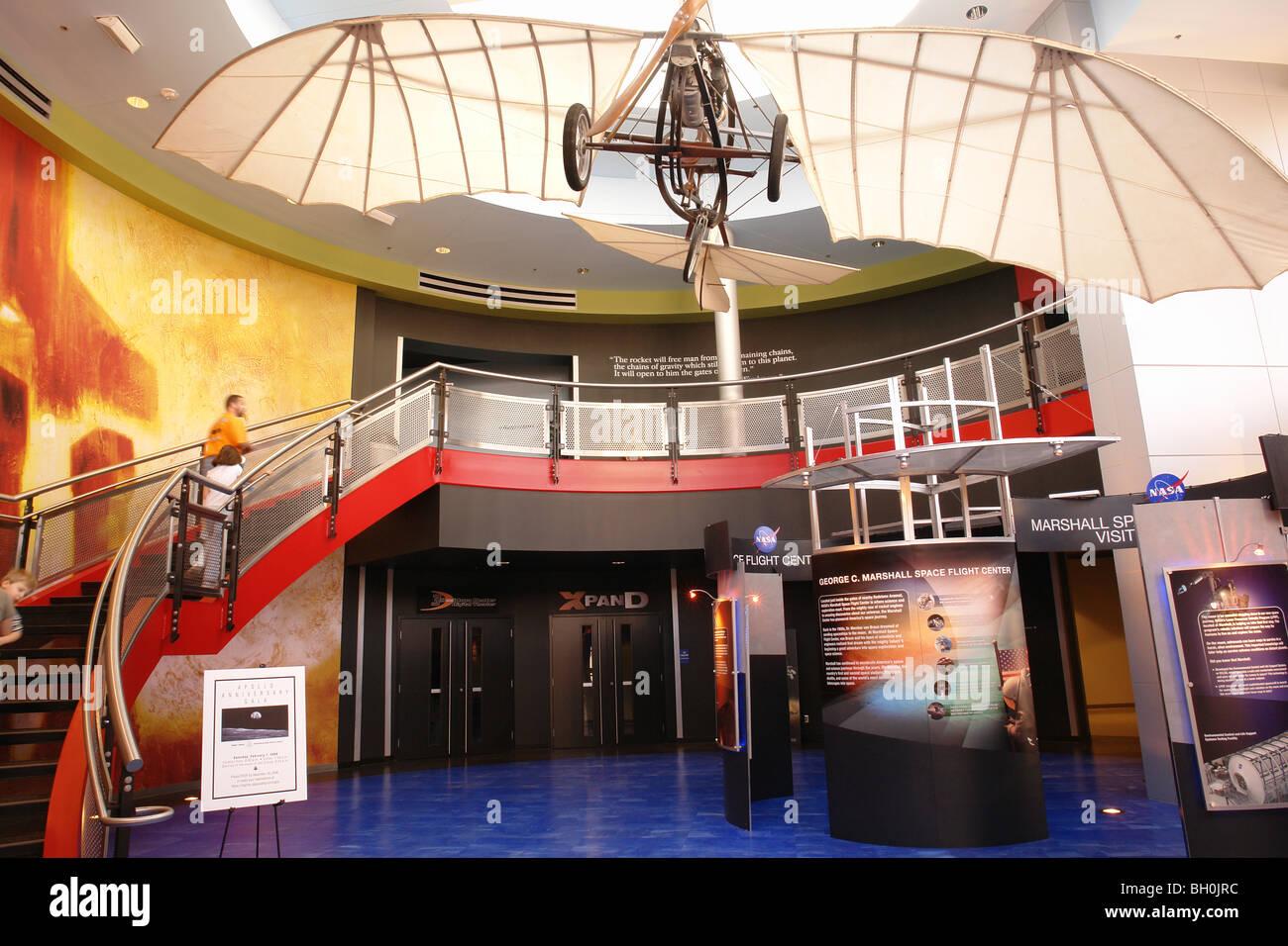 Huntsville Al Alabama US Space And Rocket Center Interior
