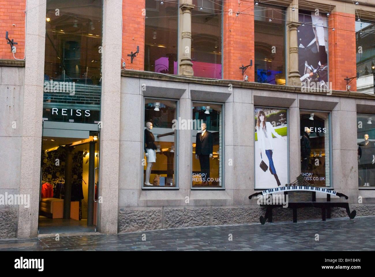 Image of Clothing shops Brick Lane area Shoreditch East End London
